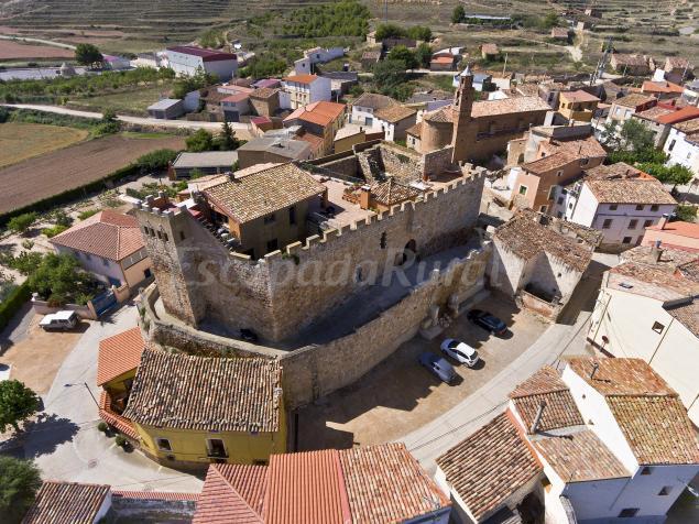 Castillo Medieval de Grisel  Casa rural en Grisel Zaragoza