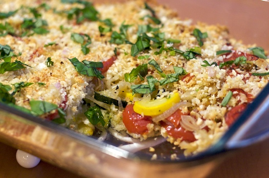 Summer Vegetable Gratin