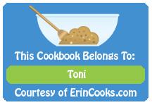 Congratulations Toni!