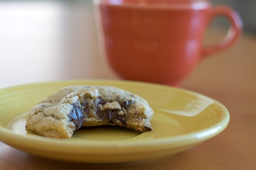 Raspberry Lemon Chocolate Chip Cookies