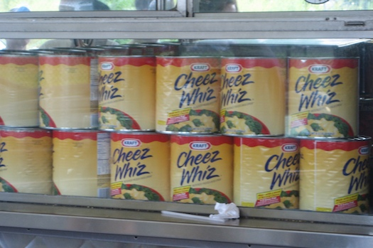 Gallons of Cheese Whiz