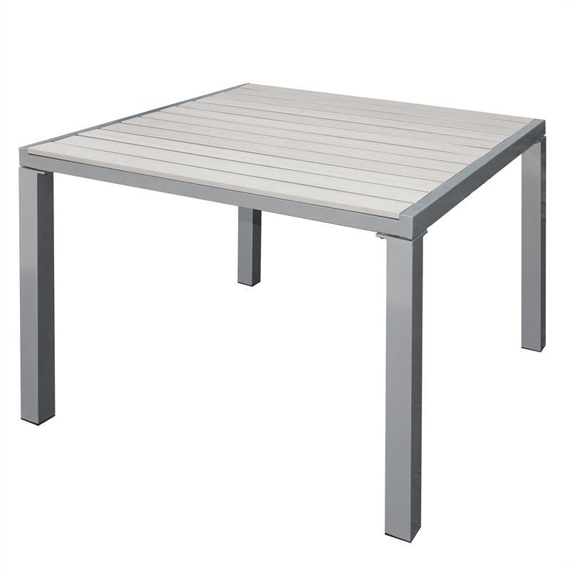 Gemeinsame Wpc Tisch | Tisch Edelstahltisch Gartentisch Wpc-tisch Modernes Design &QC_42