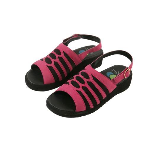洋森生活-MIT超柔軟雷雕萊卡涼鞋-3色#YS582