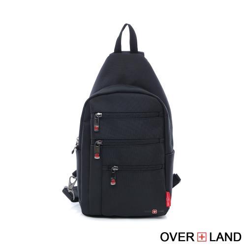 OVERLAND - 美式十字軍 - 都會型男百搭多格層胸包 - 5161