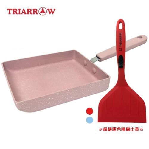 【三箭牌】玉子燒不沾鍋+專用矽膠鍋鏟