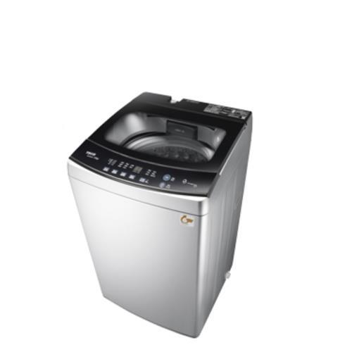 東元10公斤變頻洗衣機晶鑽銀W1068XS