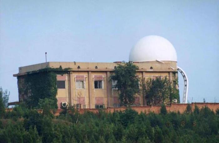 Beijing Fangshan Satellite Laser Observatory.  Credit: Beijing Fangshan Satellite Laser Observatory
