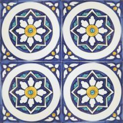 2414 Spanish Tiles Azulejo from Portugal Repetitive
