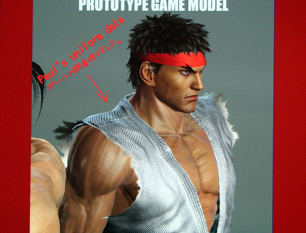 Tekken X Street Fighter model prototype image #1