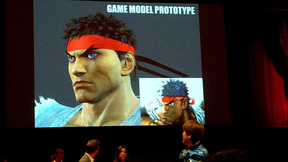 Tekken X Street Fighter model prototype image #2