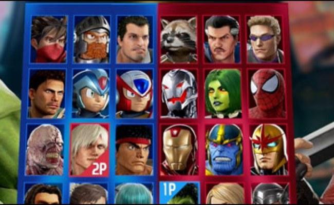 Marvel Vs Capcom Infinite S Launch Roster Has Been Fully