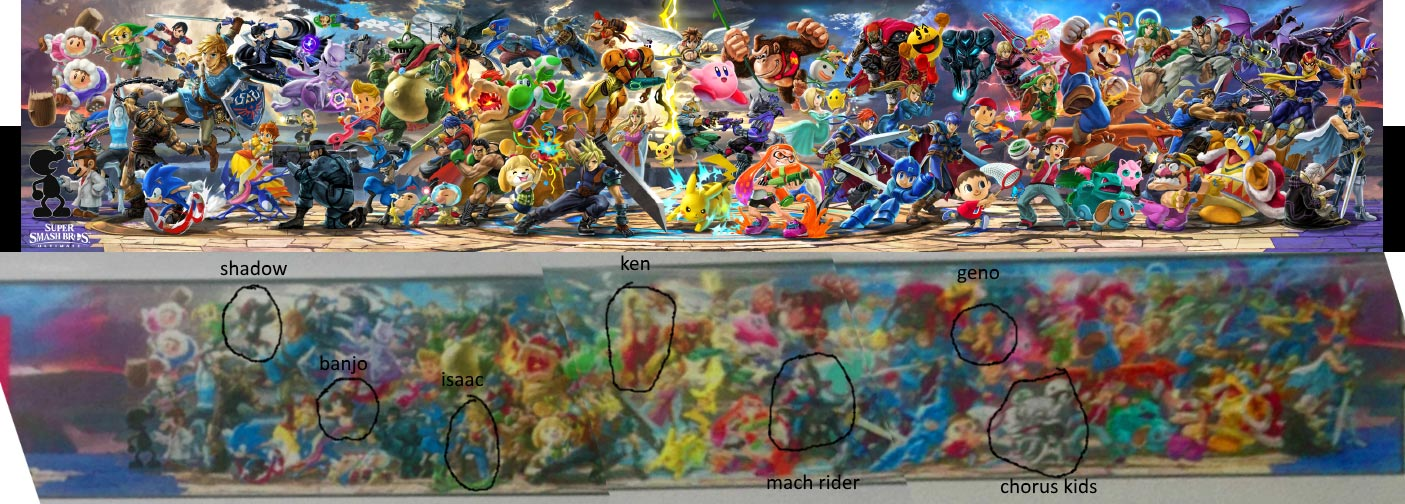 Potential Super Smash Bros Ultimate Roster Leak 1 Out Of