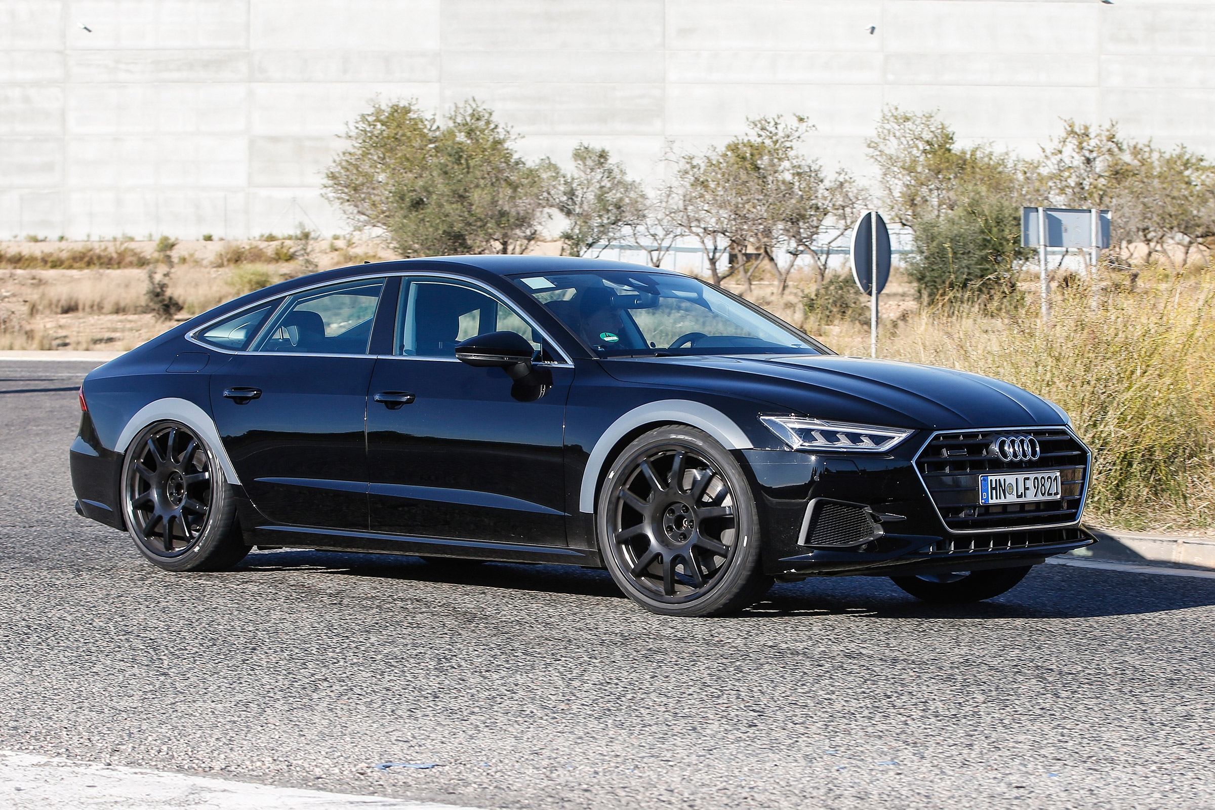 2019 audi rs7 spied