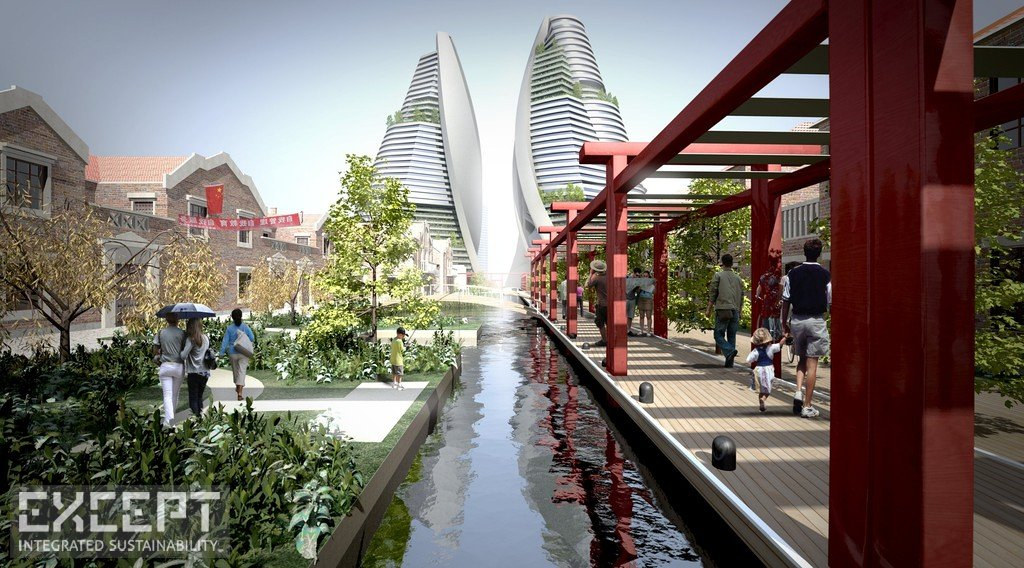 Except Integrated Sustainability  Shanghai Urban