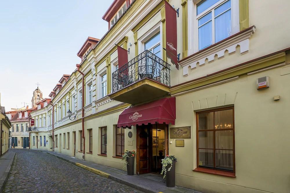 Grotthuss Boutique Hotel Vilniaus Hotel Price Address
