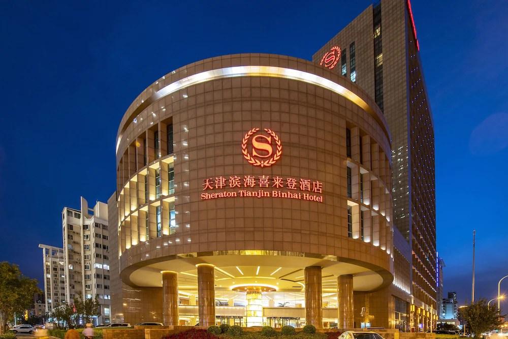 Sheraton Tianjin Binhai Hotel Tianjin Price Address Reviews