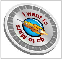 Flights to Mars - Expedia Blog Badge