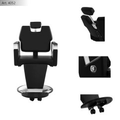 Mobile Barber Chair Office In Olx Salon Seat Rotatable Adjustable Hairdresser