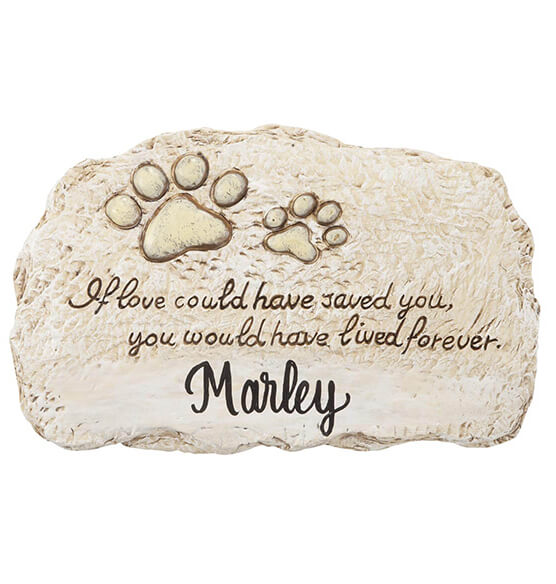 personalized forever pet memorial