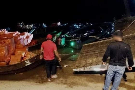 Contrabandistas de cigarrillos balean a policía brasileño y huyen