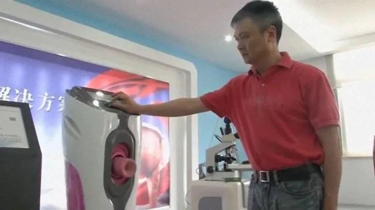 El ingenioso succionador también sirve para tratar al eyaculación precoz
