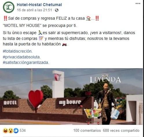 Motel causa furor con su promo para los permisoi