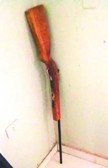 El proyectil que tenía era el único que llevaba cargada la escopeta, contó el policía.