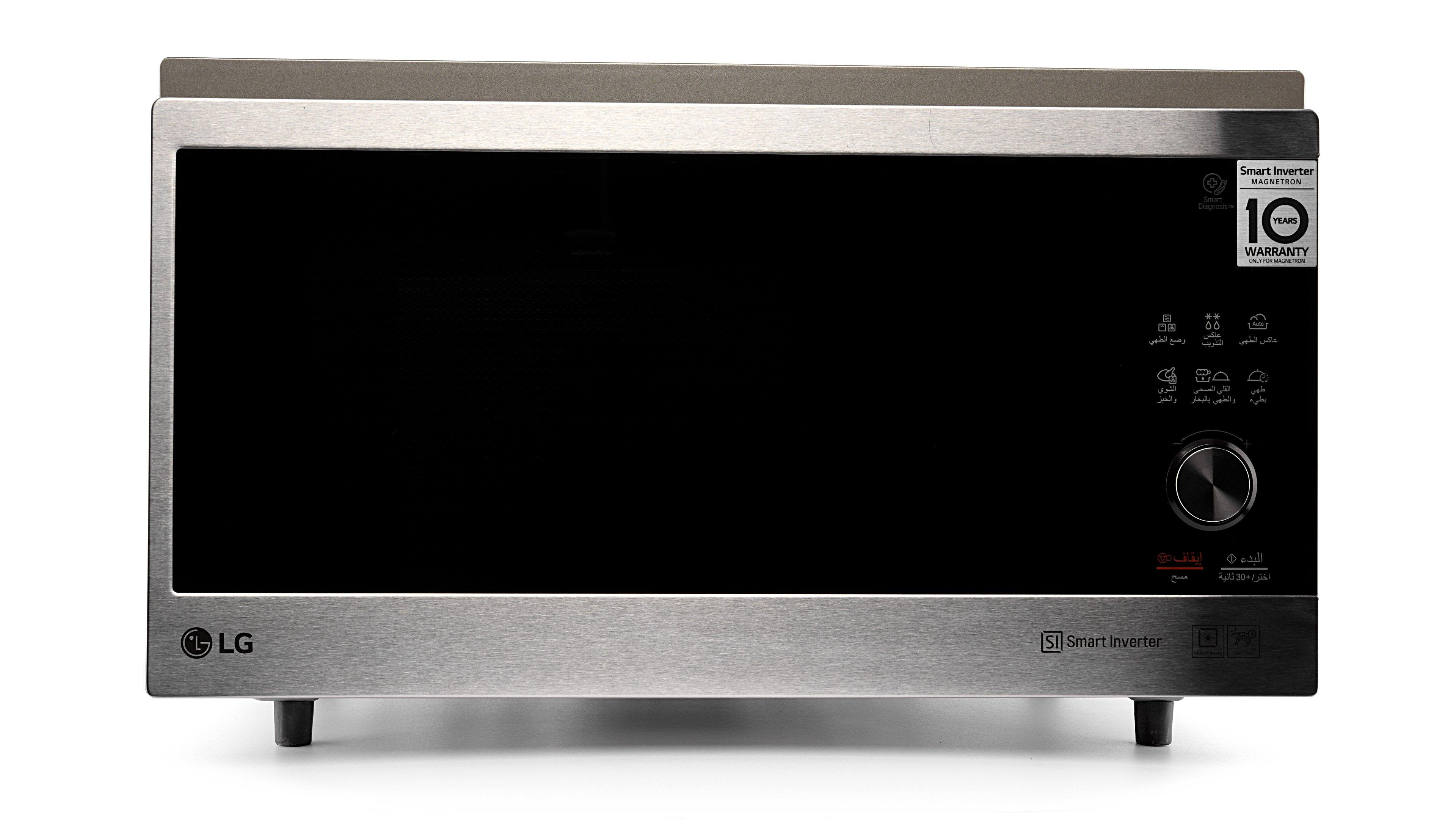 lg microwave convection 39l stainless steel door sts black healthy fry
