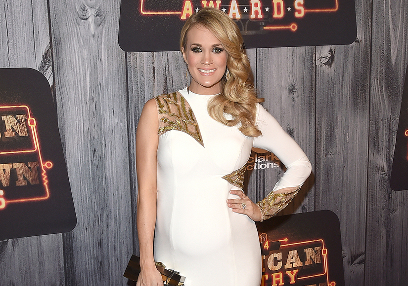 Carrie Underwood Baby 2015
