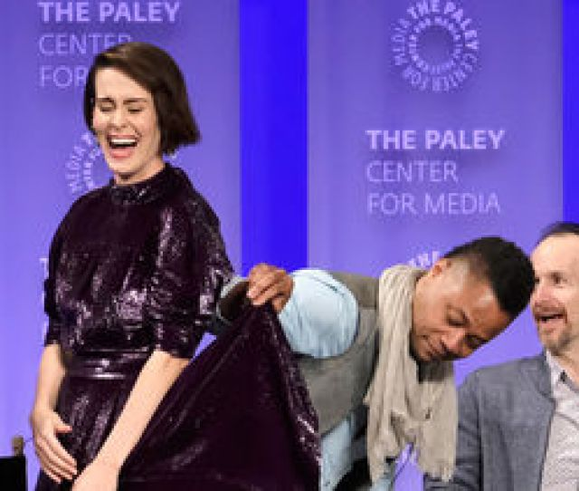 Cuba Gooding Jr Speaks Out On Sarah Paulson Skirt Lifting Controversy
