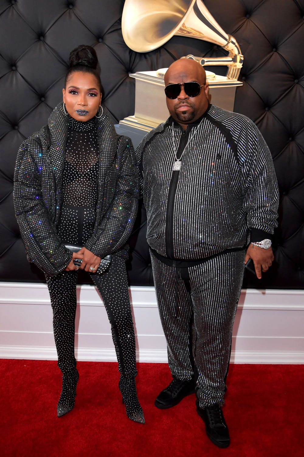 Shani James and CeeLo Green