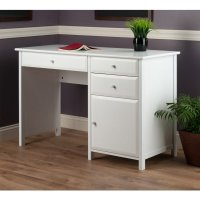 Winsome Wood Delta Office Writing Desk in White