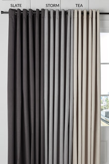 Kensington Eyelet Curtains Online  Shop EziBuy Home