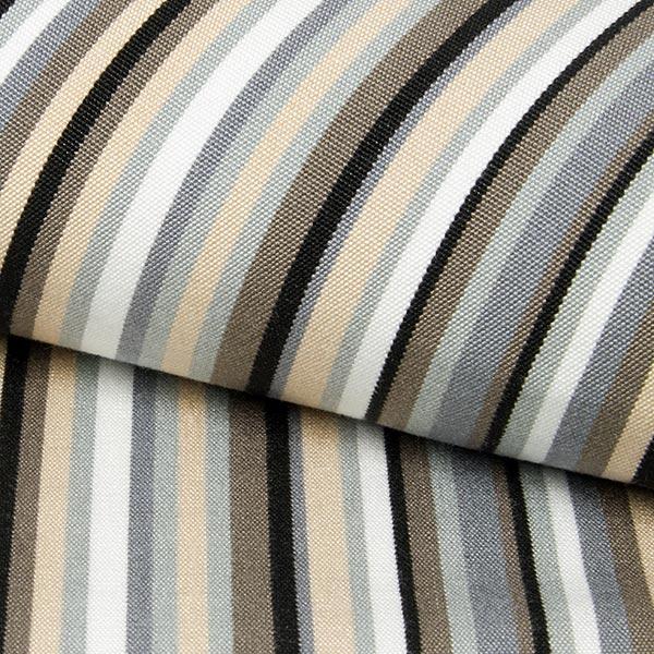 exterieur tissu pour chaise longue rayures verticales 44 cm gris echantillon