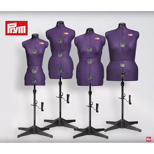 Mannequin De Couture Prymadonna S 36 42 Prune Prym Mannequin Couture Tissus Net