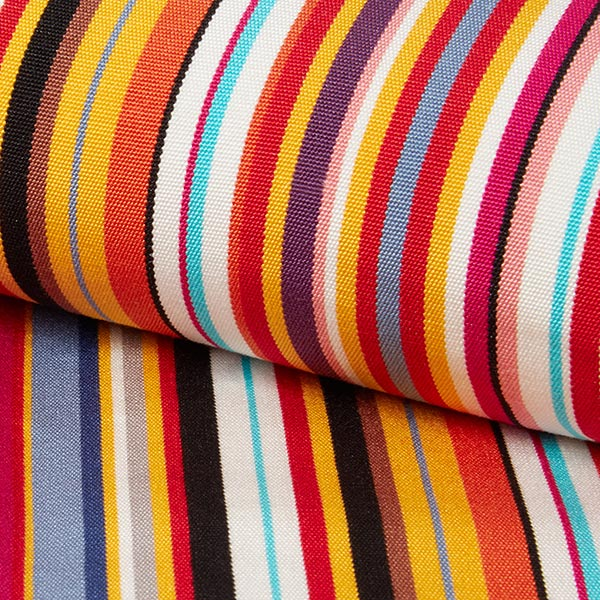 tissu d exterieur pour chaise longue rayures verticales 44 cm rouge