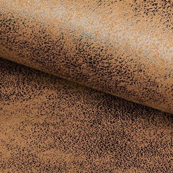 toho imitation leather upholstery fabric light brown sample