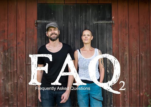Johannes Wätterbäck och Sara Bäckmo i podcasten Två odlare emellan FAQ2