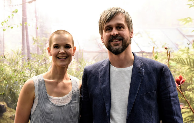 Sara Bäckmo och Johannes Wätterbäck o podcasten Två odlare emellan