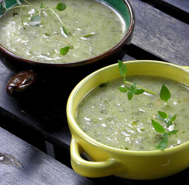 Soppa med stadsodlade grönsaker