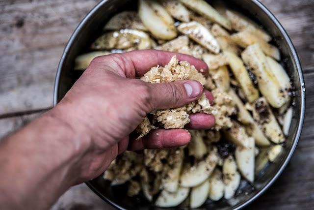 Äppelpaj med kardemumma