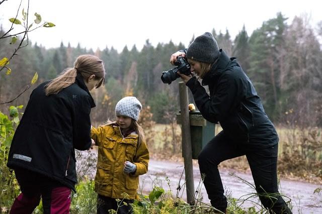 Linda Eliasson fotar Farbror Grön