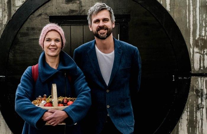 Sara Bäckmo och Johannes Wätterbäck från podden Två odlare emellan