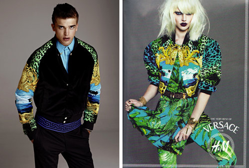 H&M, Versace