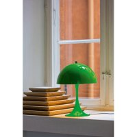 Louis Poulsen Panthella Mini table lamp, yellow-green ...