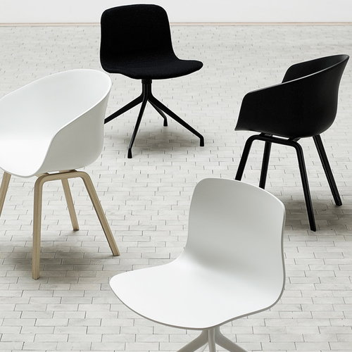 Hay About A Chair AAC22 black  Finnish Design Shop
