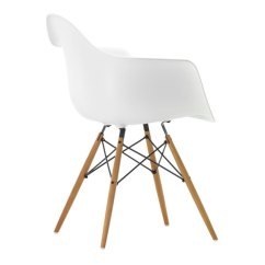 Eames Chair White Eastlake Rocking Vitra Daw Maple Finnish Design Shop
