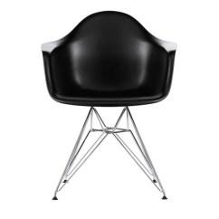 Black Eames Chair Best Nursery Chairs Vitra Dar Chrome Finnish Design Shop