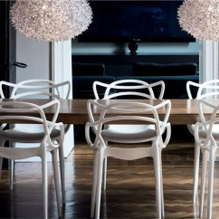 Design Chair Kartell Sling Cushions Masters White Finnish Shop