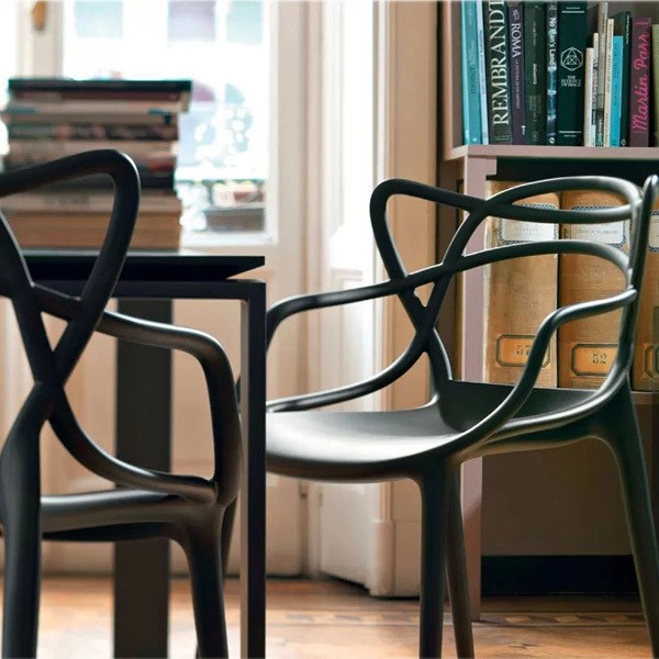 design chair kartell tent table and rentals masters black finnish shop